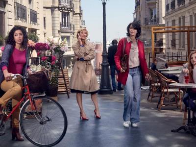 """5 femmes et Paris la nouvelle série de Zabou Breitman """"Paris etc..."""""""