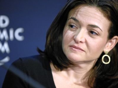 Sheryl Sandberg, Chief Operating Officer, Facebook, USA - © Jolanda Flubacher