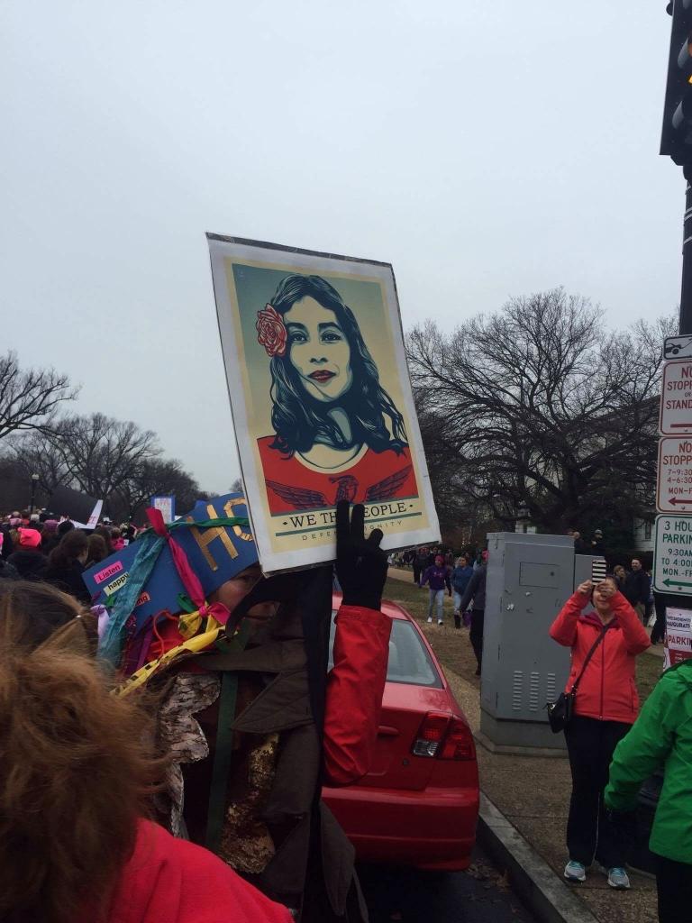 la marche des femmes-2 Washington DC ©DR