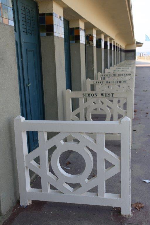 le nom d'Harvey Weinstein a été effacé à Deauville sur les Planches ©Sophie Quesnel
