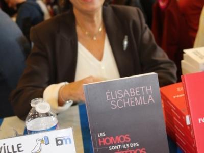 Elisabeth Schemla Salon du livre ©Sophie Quesnel