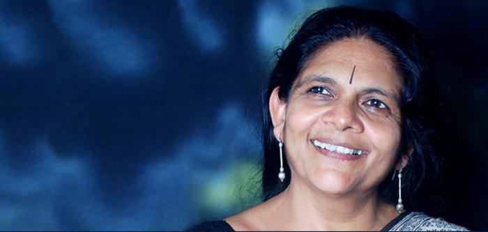 Chetna Sinha capture Twitter Cherie Blair Fndn 