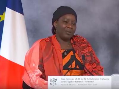 Extrait vidéo remise du 1er prix Simone Veil ©Présidence de la République