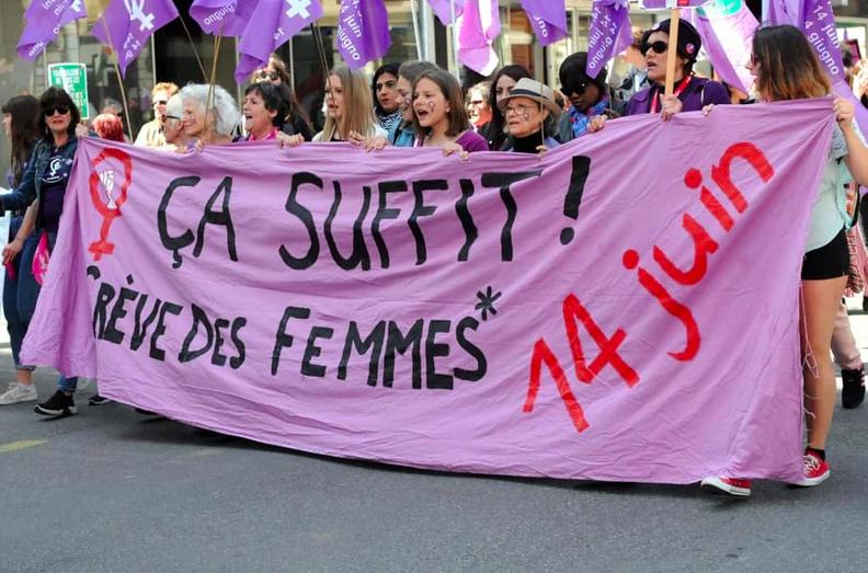 Grève nationale des femmes suisses 14 juin