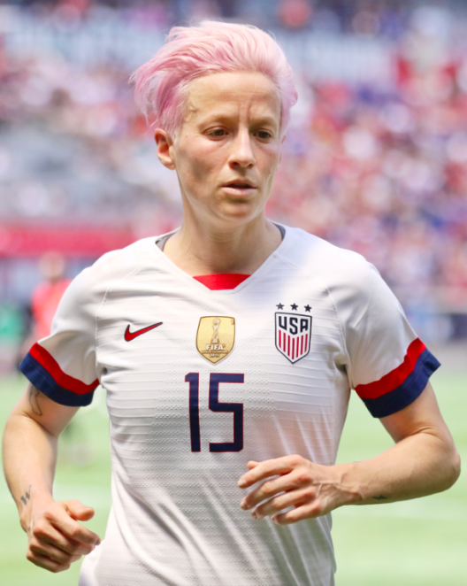 Megan Rapinoe capitaine équipe US football
