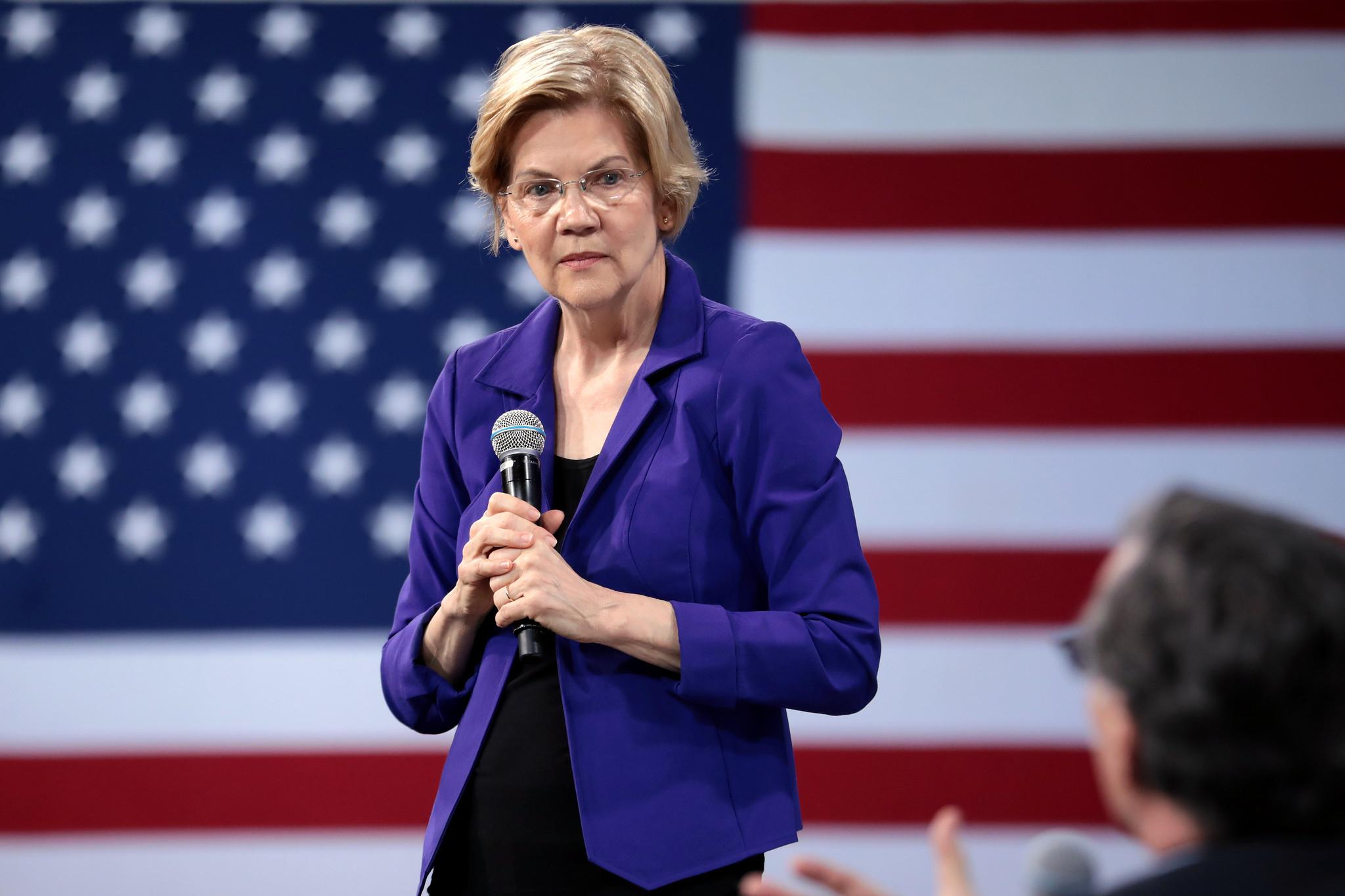 la sénatrice Elizabeth Warren