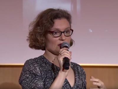 Leatitia Vitaud, extrait vidéo YouTube 2018