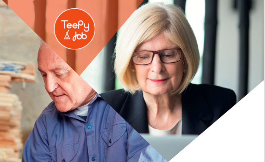 Teepy Job la plateforme d'emploi pour les seniors
