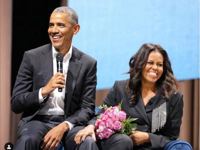 Michelle et Barack Obama ©Instagram