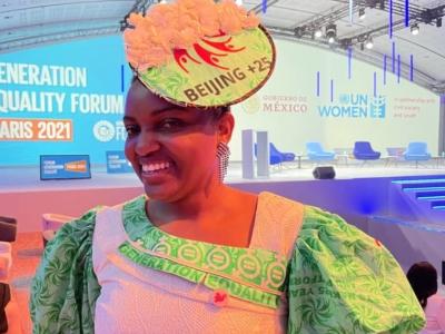 Zoneziwoh Mbondgulo-Wondieh directrice exécutive de Women for a change,